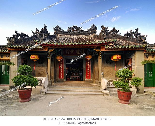 Phuc Kien Assembly Hall of the Chinese from Fujian, Hoi An, Vietnam, Southeast Asia