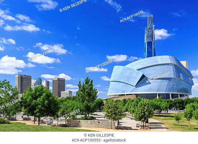 Canadian Museum for Human Rights at The Forks, Winnipeg, Manitoba, Canada
