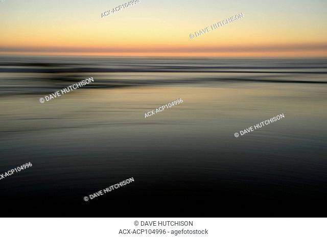 Camera Painting at Pacific Beach, Oregon coast, USA