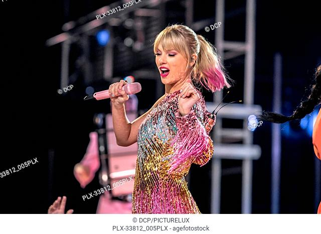 Taylor Swift at the 2019 Billboard Music Awards held at MGM Grand Garden Arena on May 1, 2019 in Las Vegas, Nevada. Photo Credit: DCP / PictureLux - All Rights...