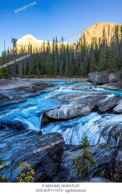 The Natural Bridge, Kicking Horse River, Yoho National Park, British Columbia, Canada