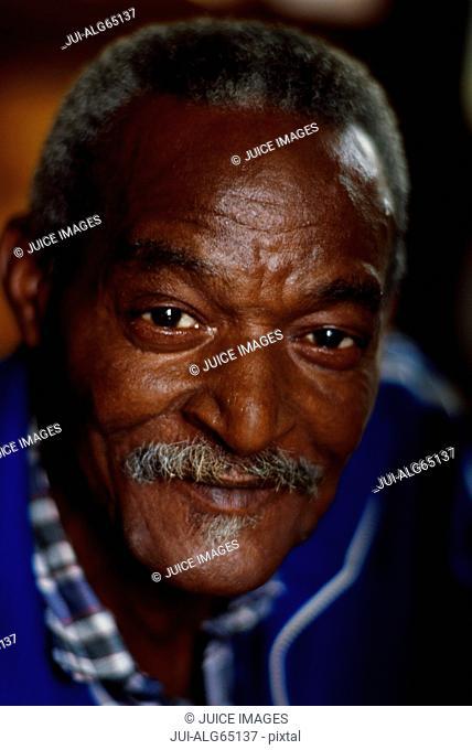 Portrait, senior man, Havana, Cuba