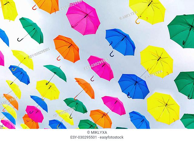 d1bf60225 Bright yellow parasol Stock Photos and Images | age fotostock