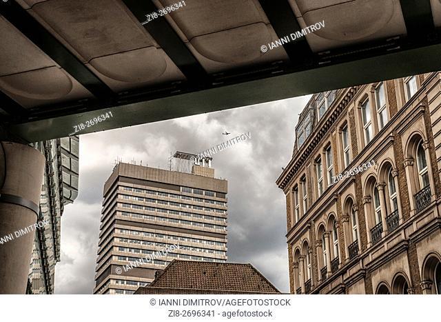 London,England-Guy's and St. Thomas Hospital
