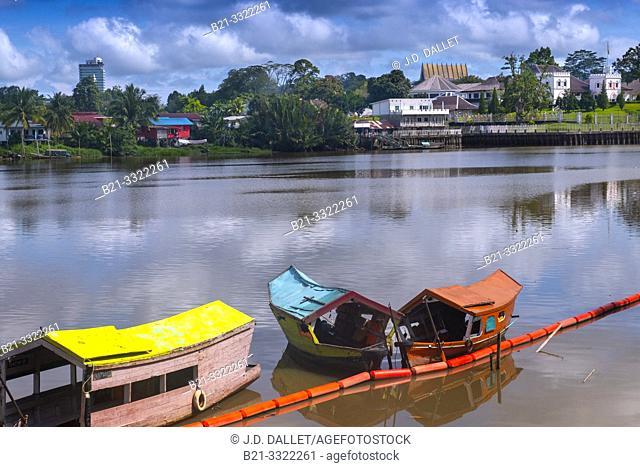 Malaysia- Kuching Sarawak- Fort Margherita, on the river side