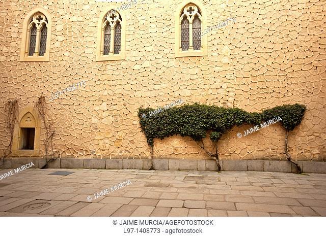 Courtyard within the Alcazar of Segovia