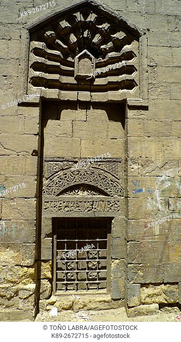 Mausoleum. City of the Dead (Torab Imam Al Shafei). Cairo. Egypt