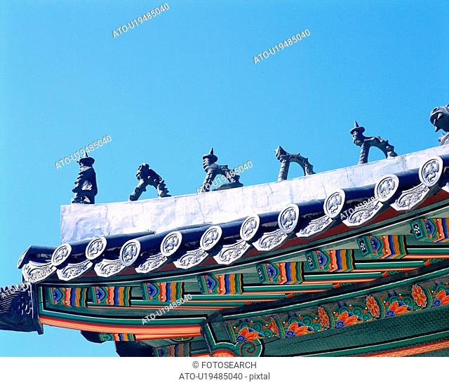 roofing tile, roof, palace, tradition, eaves, film