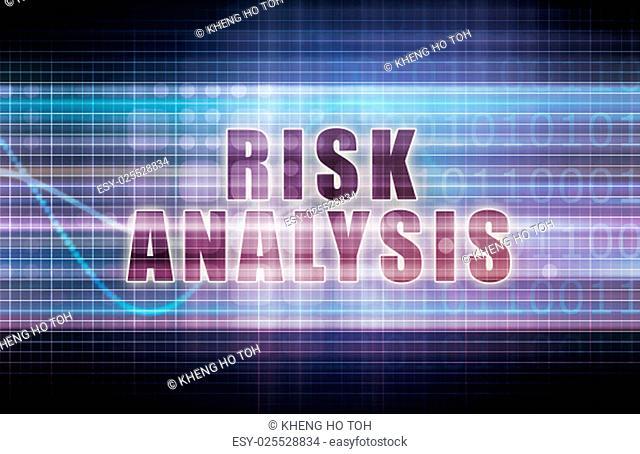 Risk Analysis on a Tech Business Chart Art
