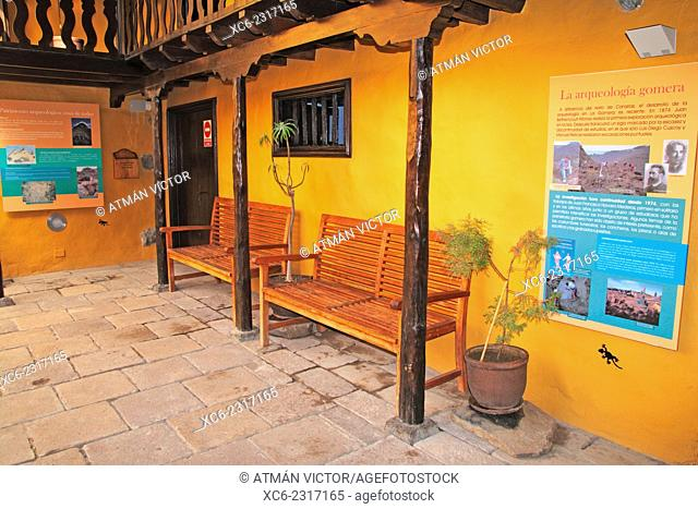 archeological museum in San Sebastian de La Gomera. Canary islands