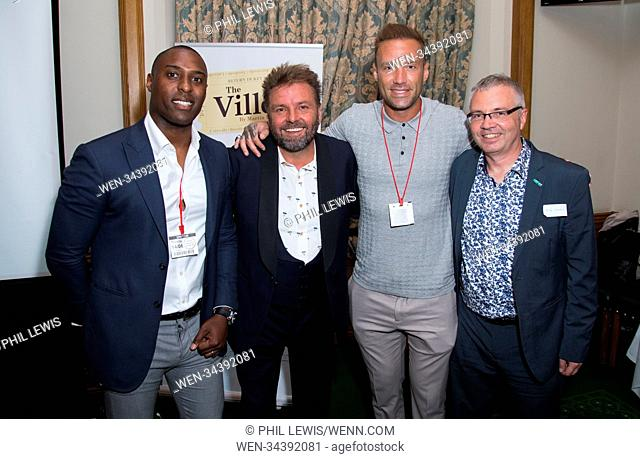 Guests attend the Martin Roberts Foundation Event Featuring: Martin Roberts, Calum Best, Peter Wanless from NSPCC Where: London