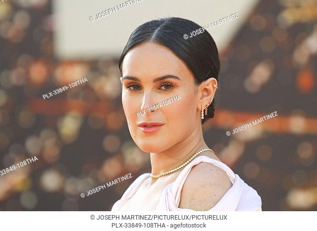 """Rumer Willis at Sony Pictures' """"""""Once Upon a Time...in Hollywood"""""""" World Premiere held at the TCL Chinese Theatre, Los Angeles, USA, July 22, 2019"""