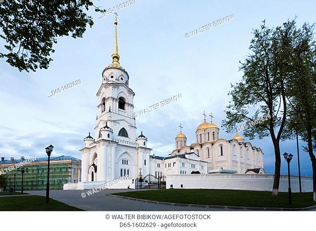 Russia, Vladimir Oblast, Golden Ring, Vladimir, Assumption Cathedral