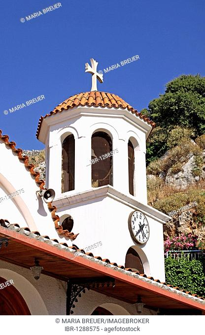 New Church, Church of Agios Ioannis, Axos, Crete, Greece, Europe
