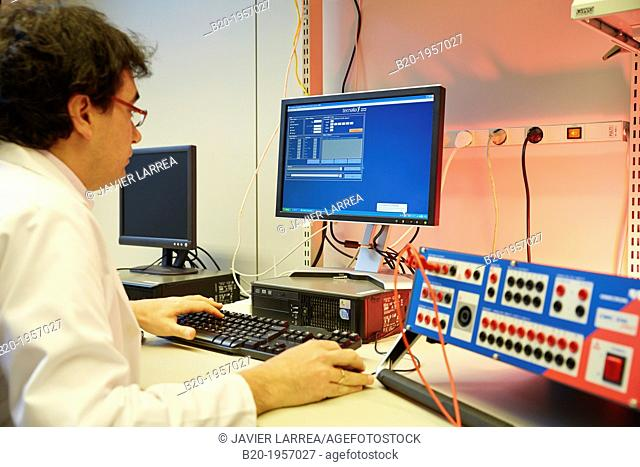 Smart Meters control room. Low Voltage Micro Network. Testing and Certificates Services for Smart Grids and Smart meters