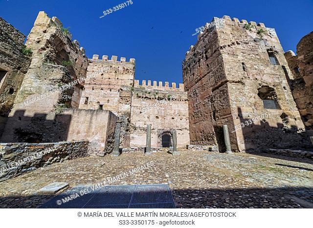 Ruins of the castle of Yanguas. Soria. Spain. Europe