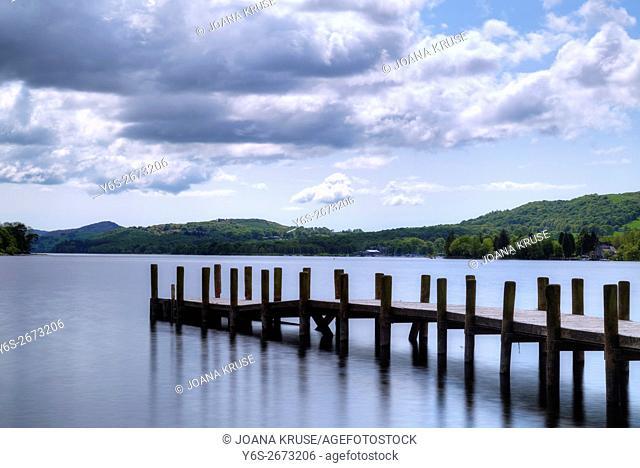 High Nibthwaite, Coniston Water, Lake District, Cumbria, England, UK