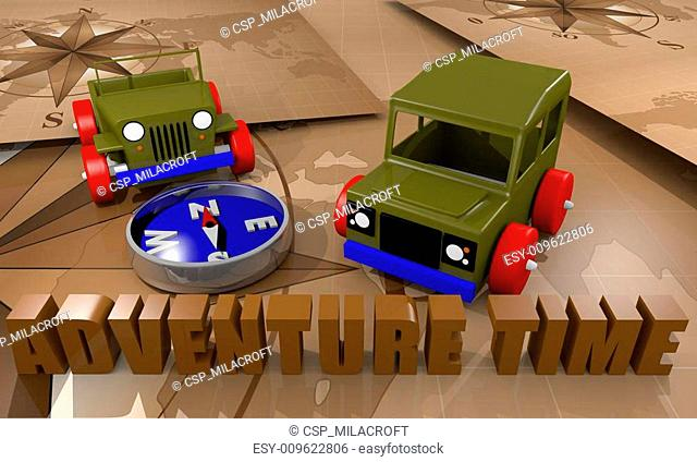 Offroad cars toy