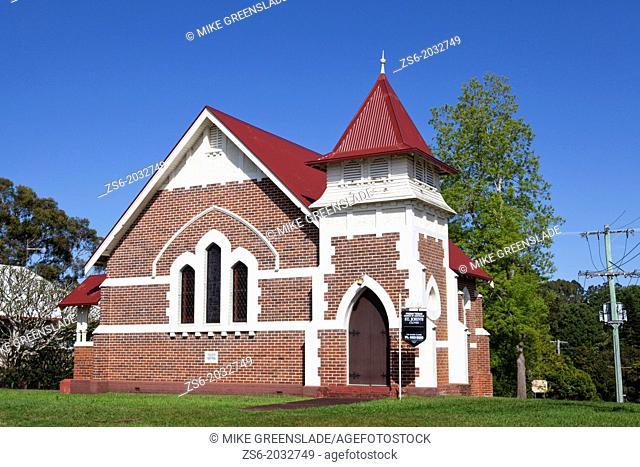 St John's Presbyterian Church, Clunes, NSW, Australia