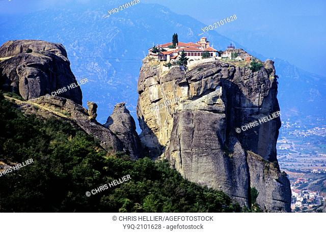 Holy Trinity Monastery Meteora Thessaly Greece