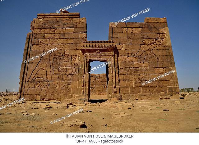Lion Temple for the lion-deity Apedemak, Naga, Nubia, Nahr an-Nil, Sudan
