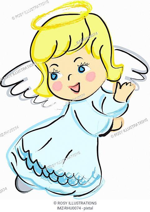 A happy angel