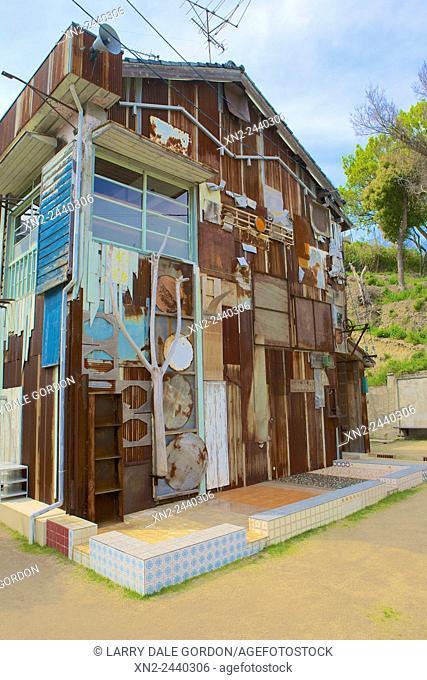 Naoshima Art Island - An Entire House As An Art Installation. Japan