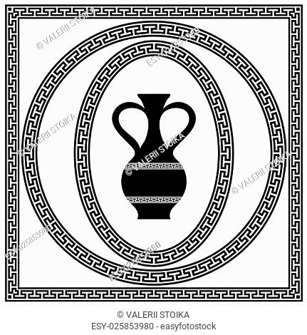 Greek Frame Amphora Stock Photos And Images Age Fotostock