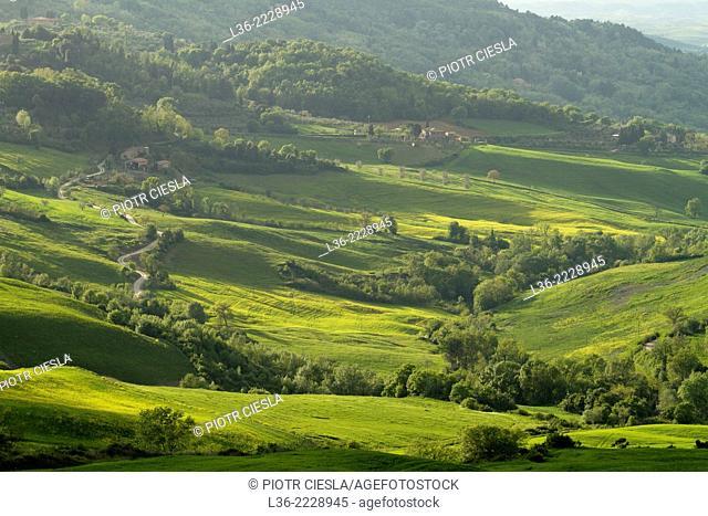 Italy Landscape near Volterra