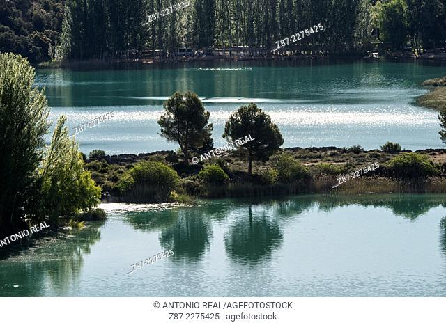 Lagunas de Ruidera Natural Park, Albacete and Ciudad Real provinces, Castilla-La Mancha, Spain
