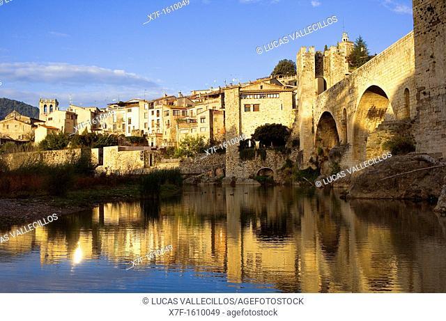 Besalú, La Garrotxa, Girona, Spain