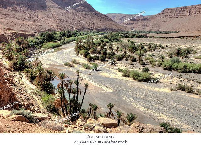 Ziz Valley, Middle Atlas Mountains, Morocco