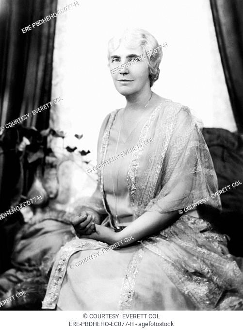 First Lady Lou Henry Hoover 1874-1944, First Lady 1929-1933, circa 1930s