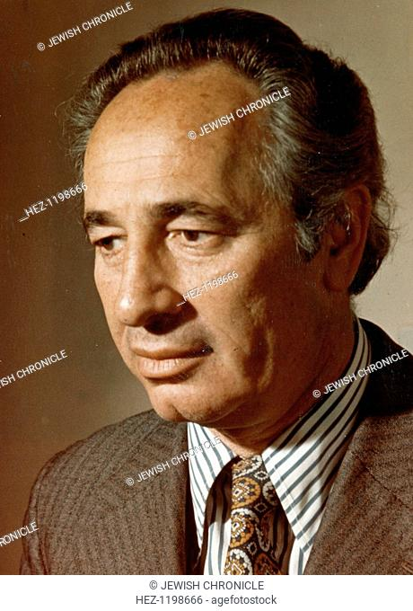 Shimon Peres (1923- ), Deputy Prime Minister of Israel and Labour Party leader