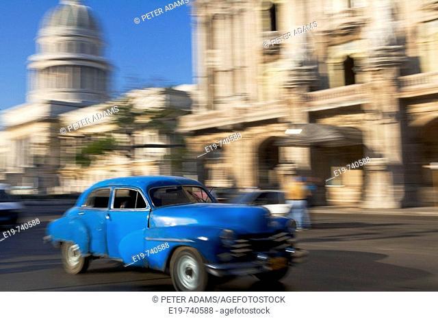 1950's American car. Havana. Cuba