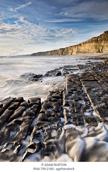 Nash Point on the Glamorgan Heritage Coast, South Wales, Wales, United Kingdom, Europe