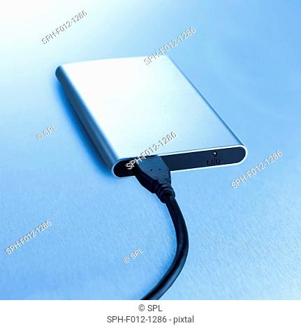 Hard drive and connecting cable