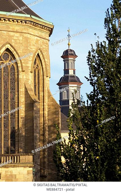 Notre Dame de Luxembourg, cathedral in Luxembourg  October 2006