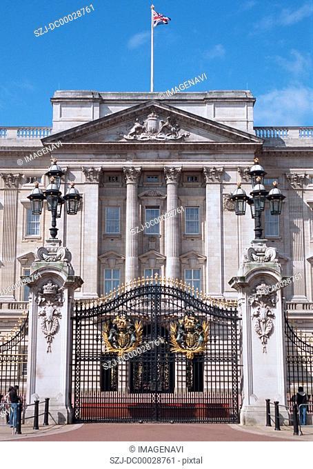 Gate of The Buckingham Palace