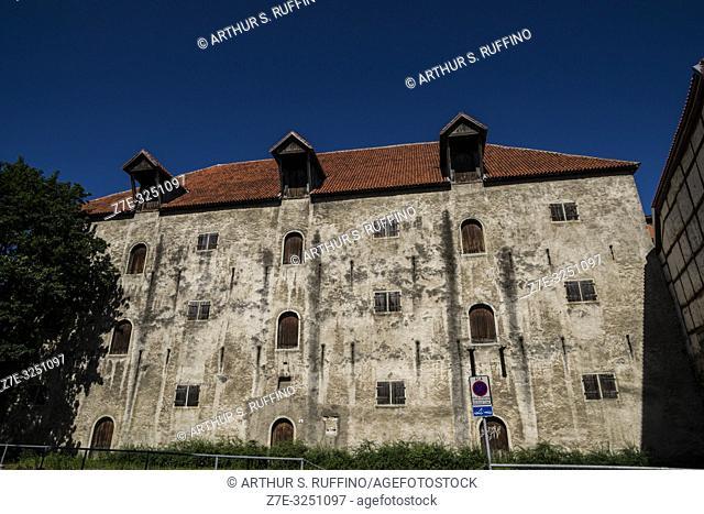 Architecture of Old Town. Tallinn, Estonia, Baltic States