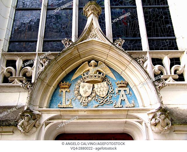 Castle of Blois - St Calais chapel.