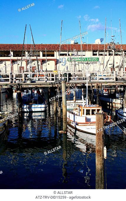 FISHERMAN'S WHARF; SAN FRANCISCO, USA; 10/11/2010