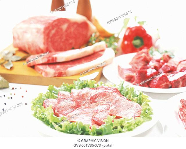 Asorted Cuts of Beef