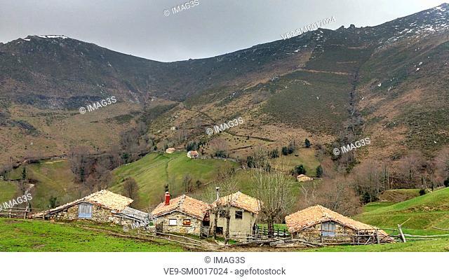 La Ortigosa valley, Laviana municipality, Asturias, Spain