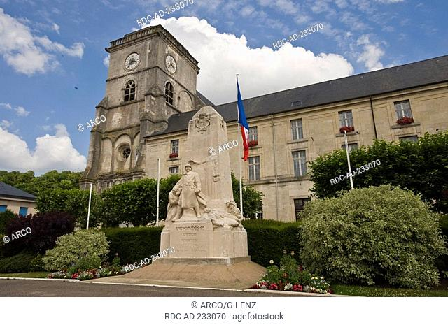 Church Saint Michel, Saint Mihiel, Lorraine, France