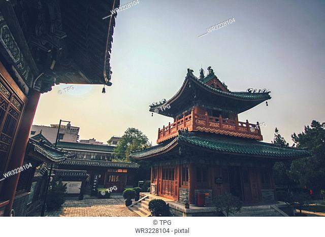 Spring and autumn tower;Xuchang; Henan; China