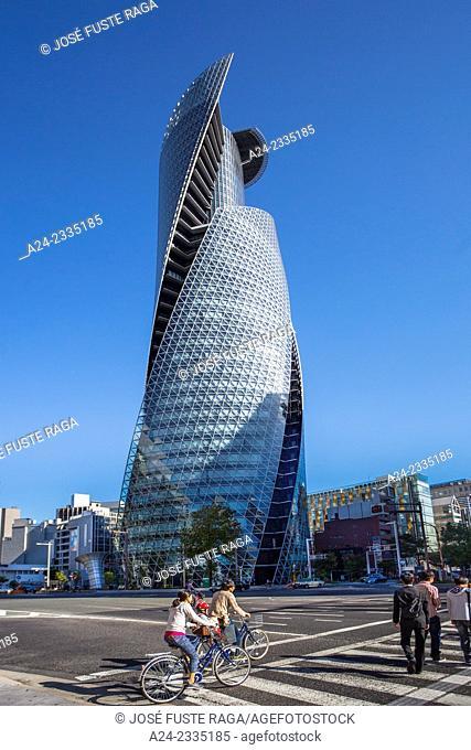 Japan , Nagoya City,Near Nagoya Station , Spiral Tower Bldg., Sasajima intersection