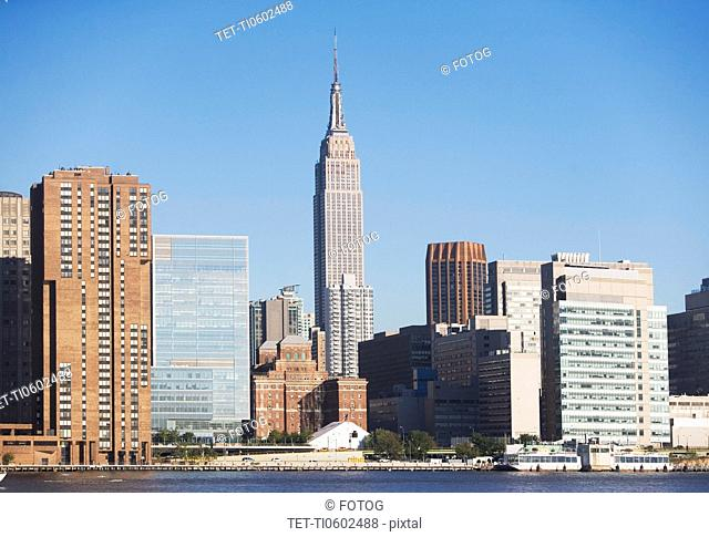 USA, New York State, New York City, Manhattan, Empire State Building
