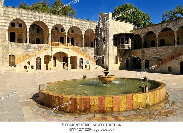 historic Beit ed-Dine, Beiteddine Palace of Emir Bashir, Chouf, Lebanon, Middle east, West Asia