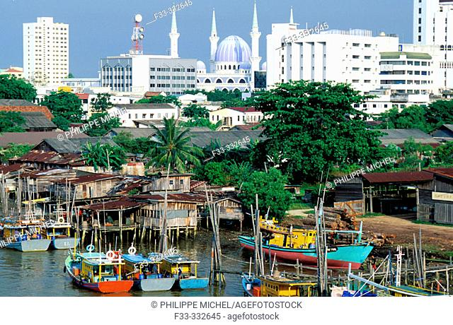 Malaysia - Kuantan - port of Kuantan